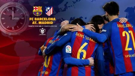 Barcelona vs Atlético de Madrid, Semifinal Copa del Rey 2017 | Resultado: 1-1