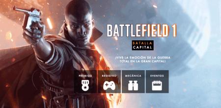 Experimenta la Primera Guerra Mundial con Battlefield 1 en Cinépolis