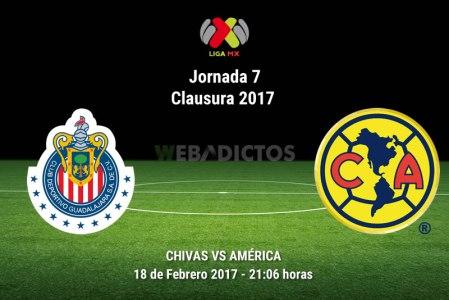 Chivas vs América, Clásico en el Clausura 2017 | Resultado: 1-0