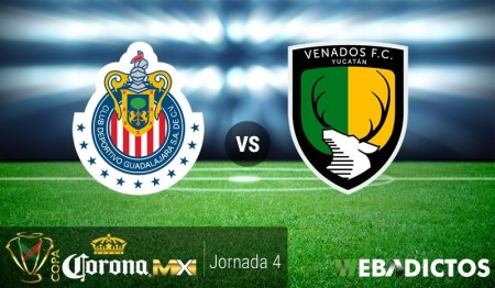 Chivas vs Venados, Jornada 4 Copa MX C2017   Resultado: 1-0