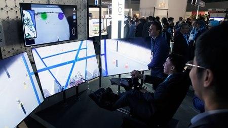 Telefónica y Ericsson hacen la primera demo mundial de conducción remota 5G durante el MWC 2017