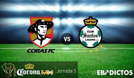 Coras vs Santos, Fecha 5 de la Copa MX C2017 | Resultado: 0-5