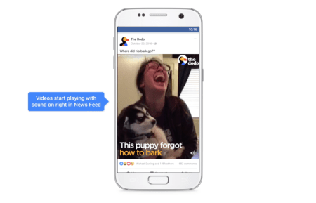 Facebook anuncia mejoras para videos