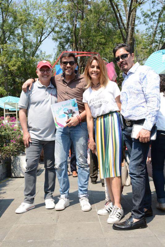 Fredo & Friends lanza su primera colección de cuentos - luis-martin-sordo_mauricio-barcelata_maria-jose-suarez_juan-salvador-martinez-534x800