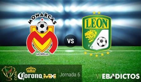 Morelia vs León, J6 Copa MX Clausura 2017 ¡En vivo por internet!