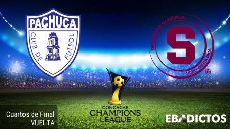 Pachuca vs Saprissa, Concachampions 2017 ¡En vivo por internet! | Cuartos de Final
