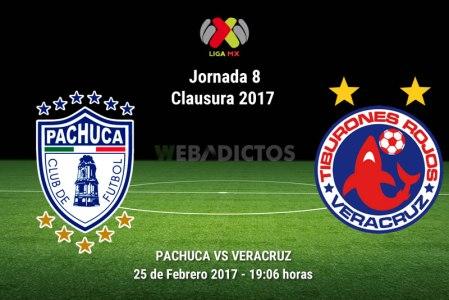 Pachuca vs Veracruz, Fecha 8 del Clausura 2017 ¡En vivo por internet!