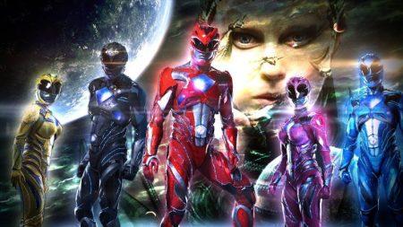 Lanzamiento nueva línea de juguetes Power Rangers Movie