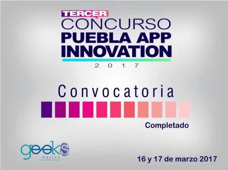 Se lanza la convocaria para el tercer concurso Puebla APP Innovation - puebla-app-innovation-800x598
