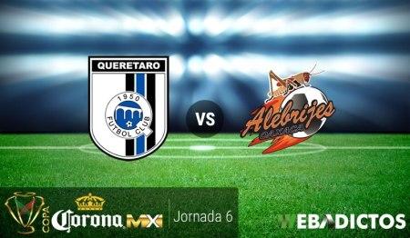 Querétaro vs Alebrijes, Copa MX C2017 ¡En vivo por internet! | J6