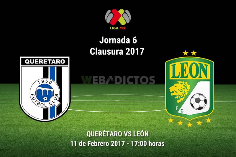 Querétaro vs León, Jornada 6 del Clausura 2017 | Resultado: 2-1 - queretaro-vs-leon-j6-del-clausura-2017