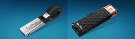 SanDisk ahora ofrece 256 GB de almacenamiento adicional para iPhone e iPad
