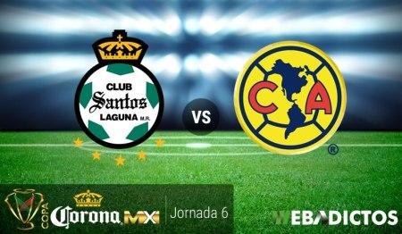 Santos vs América, Jornada 6 Copa MX C2017 ¡En vivo por internet!