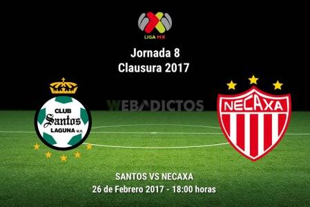 Santos vs Necaxa, Jornada 8 del Clausura 2017 | Resultado: 2-2