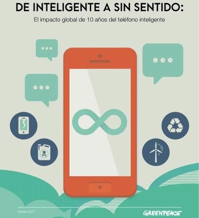 Smartphones dejan una huella ambiental desastrosa: Greenpeace