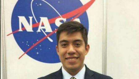 Yair Piña, estudiante mexicano seleccionado para ir a Marte