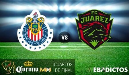 Chivas vs Juárez, Cuartos de Final Copa MX C2017 | Resultado: 3-2