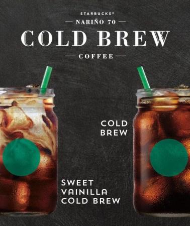 Starbucks Cold Brew, un nuevo café artesanal llega a México