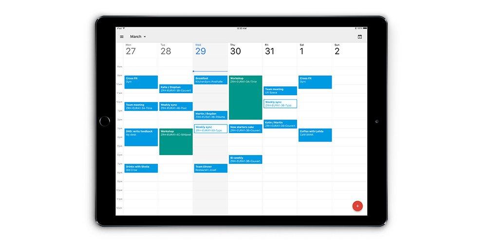Google Calendar llega al iPad - google-calendar-ipad