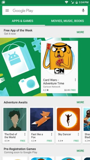 Google Play Store regalará una aplicación de manera semanal - google-play-store-free-app-week