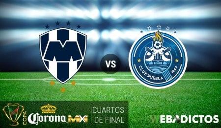 Monterrey vs Puebla, Copa MX Clausura 2017 | Resultado: 3-2