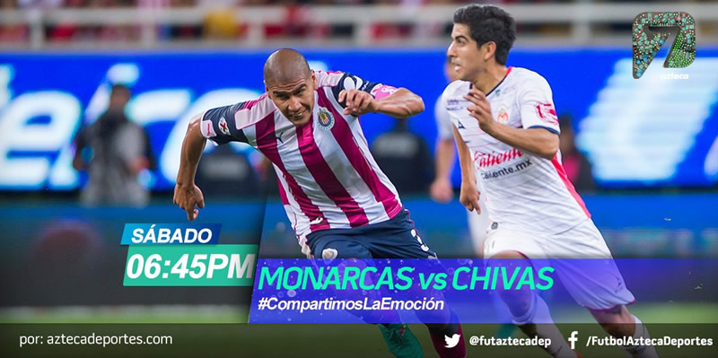 Morelia vs Chivas, J12 Clausura 2017   Resultado: 0-0 - morelia-vs-chivas-azteca-deportes-clausura-2017