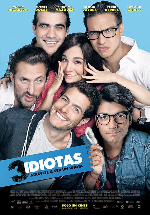 La película 3 Idiotas se estrena en México el 31 de Marzo - pelicula-mexicana-3-idiotas