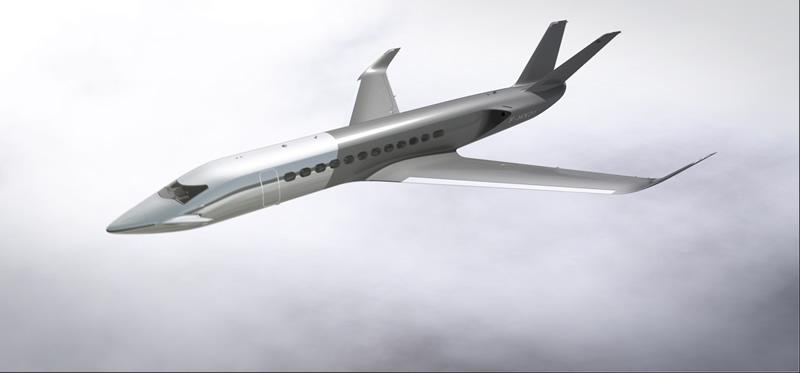 Conoce el HX1, un jet privado diseñado por Peugeot - peugeot-hx1-2