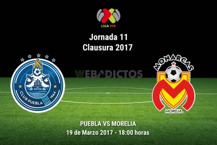 Puebla vs Morelia, Jornada 11 del Clausura 2017 | Resultado: 0-1