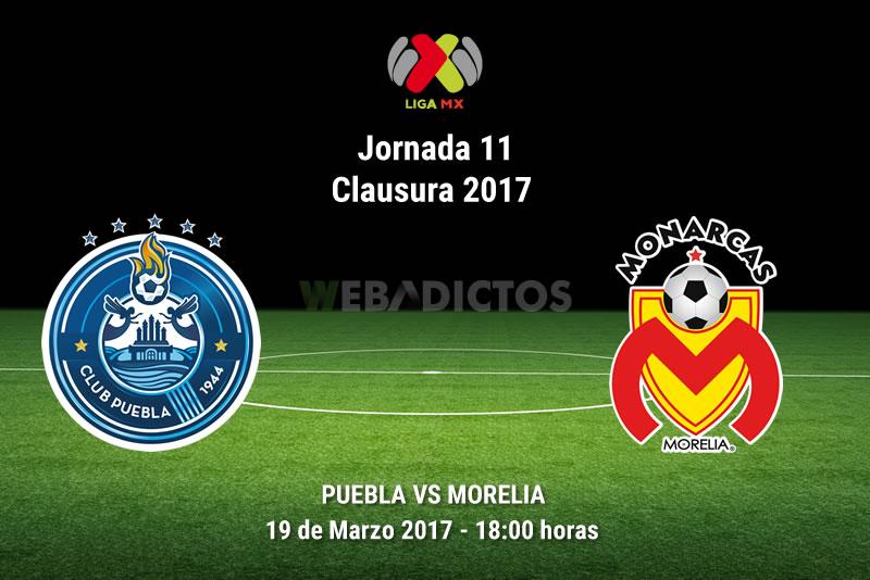 puebla vs morelia j11 clausura 2017 Puebla vs Morelia, Jornada 11 del Clausura 2017 | Resultado: 0 1