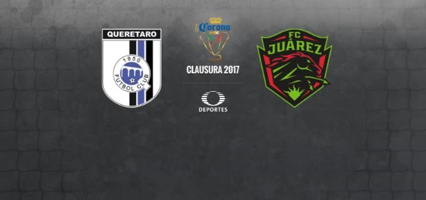 Querétaro vs Juárez, Copa MX Clausura 2017   Resultado: 1(1)-(4)1 - queretaro-vs-juarez-copa-mx-c2017-en-vivo