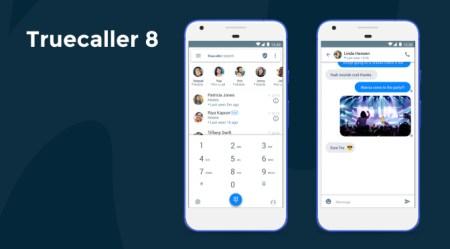 Truecaller añade más funciones en su octava versión