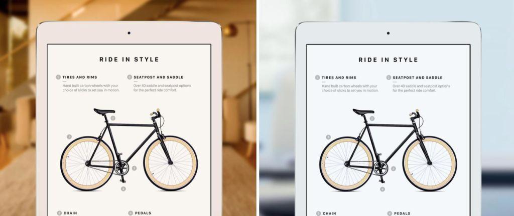 La pantalla de los iPhone del 2017 tendrá tecnología True Tone - truetone-display-ipad-on-iphone