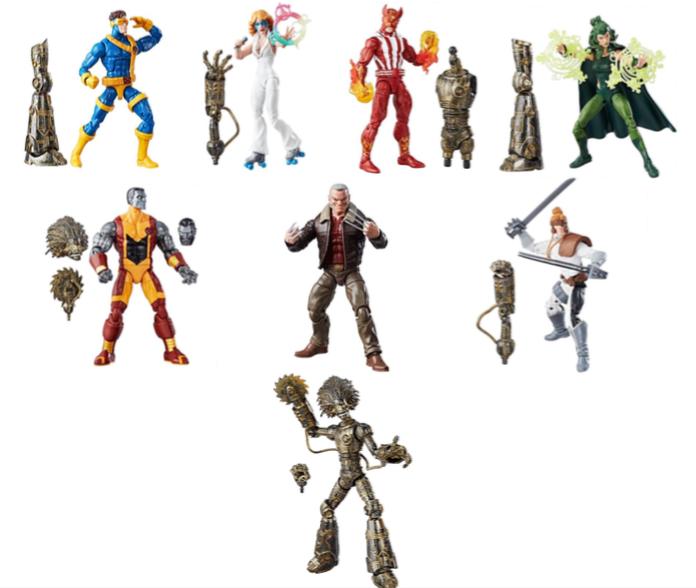 x men legends marvel legends series Hasbro presentará su nueva colección 2017 en la expo LA MOLE Comic