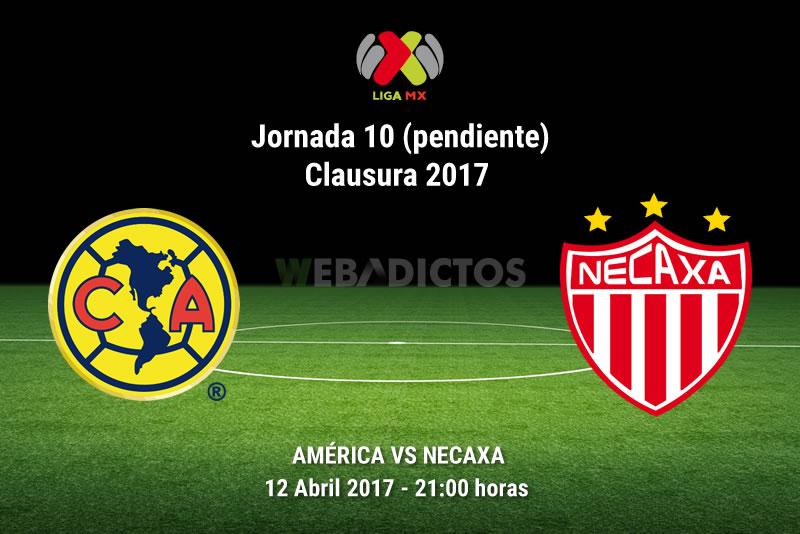 América vs Necaxa, Liga MX C2017 (Pendiente) | Resultado: 1-0 - america-vs-necaxa-j10-pendiente-clausura-2017