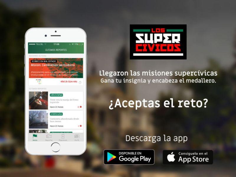 Llegaron las misiones a la app de los Supercívicos - app-los-supercivicos-800x600