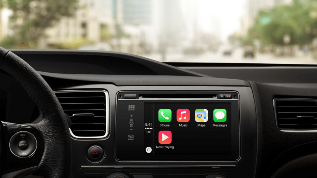 Apple ya tiene permiso de probar coches autónomos en California - apple-carplay