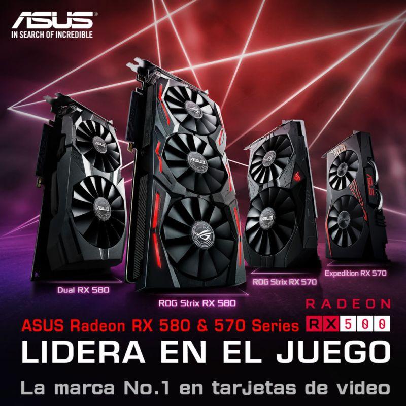 ASUS anuncia tarjetas gráficas Gaming Radeon Serie RX 500 - asus-anuncia-tarjetas-graficas-gaming-radeon-serie-rx-500-800x800