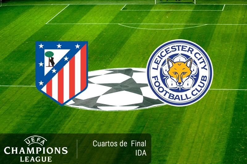 Atlético Madrid vs Leicester, Champions 2017 | Resultado: 1-0 - atletico-madrid-vs-leicester-cuartos-champions-2017