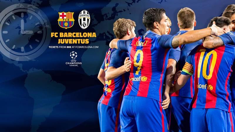 Horario Barcelona vs Juventus y en qué canal; Cuartos de Champions 2017 - barcelona-vs-juventus-horarios-champions-2017