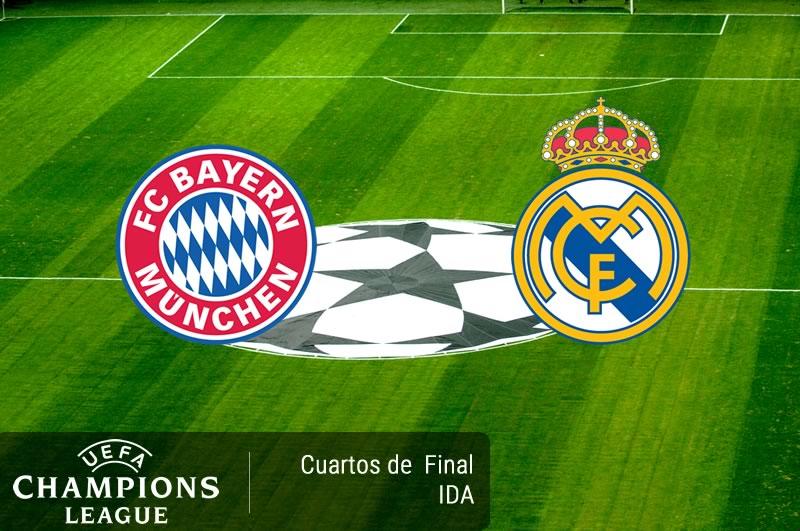 Bayern Munich vs Real Madrid, Champions 2017 | Resultado: 1-2 - bayern-munich-vs-real-madrid-cuartos-champions-2017