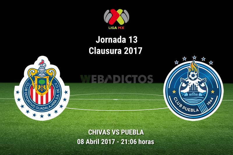 Chivas vs Puebla, Jornada 13 Liga MX C2017   Resultado: 3-2 - chivas-vs-puebla-j13-clausura-2017