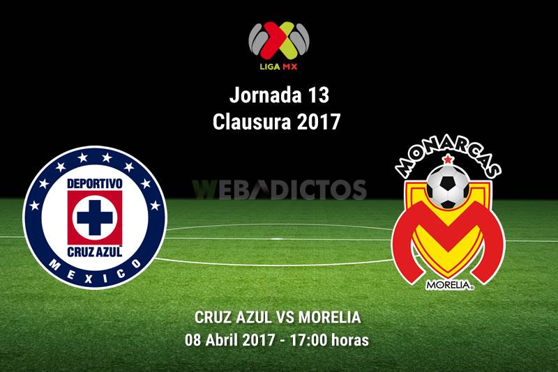 Cruz Azul vs Morelia, Jornada 13 Clausura 2017   Resultado: 1-1 - cruz-azul-vs-morelia-j13-clausura-2017