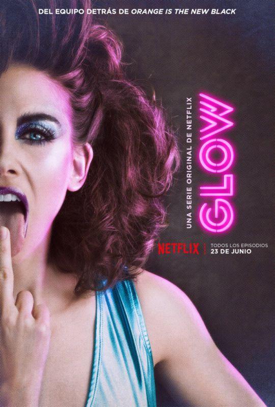 Netflix revela el póster oficial y teaser de su próxima serie de comedia: GLOW - glow_ruth_las-540x800