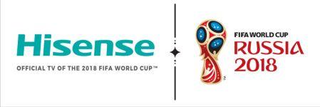 Hisense anuncia su participación como patrocinador oficial del Mundial de Futbol 2018