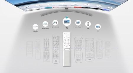 Samsung presenta nueva línea premium de televisores QLED TV - kfi_one-remote