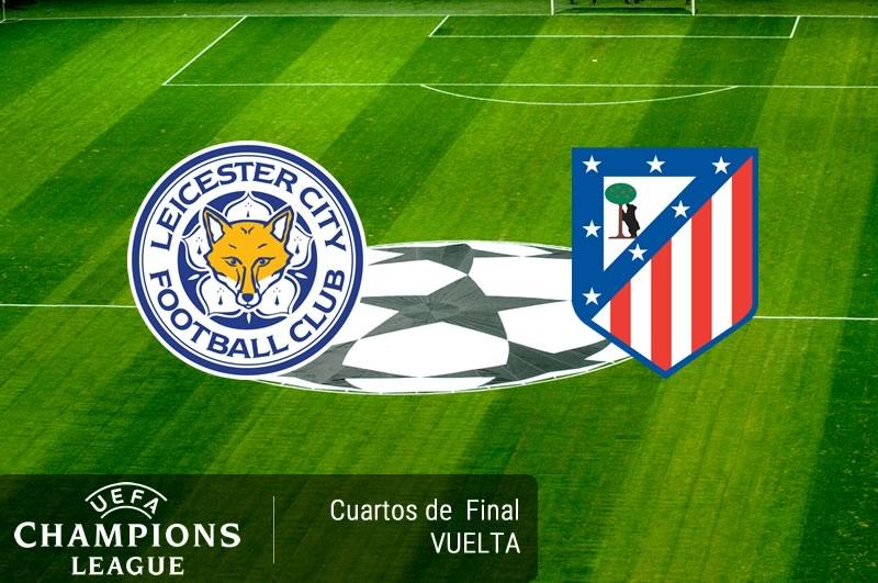 Leicester vs Atlético Madrid, Champions 2017 | Resultado: 1-1 - leicester-vs-atletico-madrid-cuartos-champions-2017