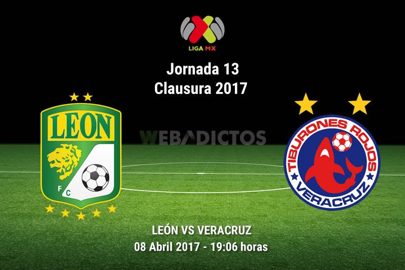 León vs Veracruz, Jornada 13 Liga MX C2017 | Resultado: 4-0 - leon-vs-veracruz-j13-clausura-2017