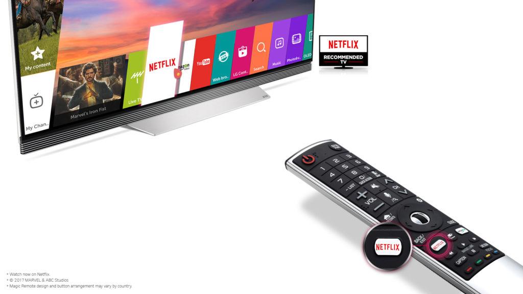 LG UHD 4K con HDR recomendados por Netflix por su experiencia de visionado superior - lg-oled-tv