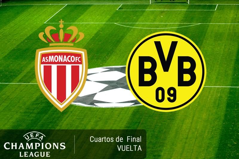 Mónaco vs Dortmund, Champions League 2017   Resultado: 3-1 - monaco-vs-dortmund-cuartos-champions-2017